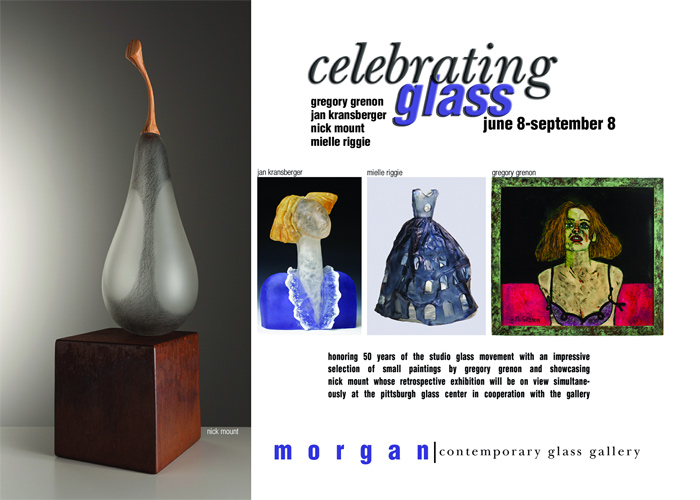 Visit Morgan Contemporary Glass Gallery's Celebrating Glass exhibition.